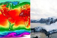 Temperaturerna har varit ovanligt höga på flera platser på norra halvklotet.