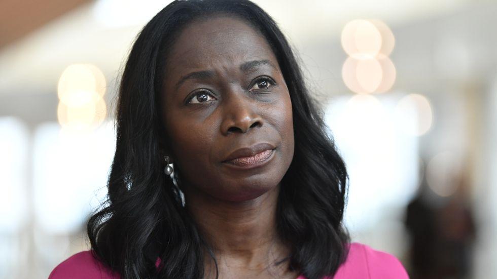 Liberalernas partiledare Nyamko Sabuni. Partiet har det fortsatt svårt i opinionen. Arkivbild.
