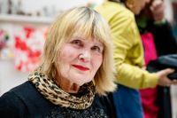 """""""När jag målar i ateljén känner jag att livet trots allt har betydelse"""", säger Niina Kulgavaja."""