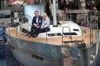 Einar Hallvik och Malin Stom började i resebranschen men har nu blivit redare med eget varv i Kroatien.