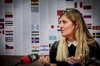 Beatrice Fihn, chef för internationella kampanjen mot kärnvapen.