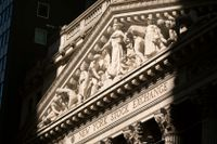 New York-börsens huvudkontor. Arkivbild.