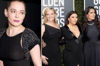 """Kvinnan som vägrade svart på Golden Globe: """"Hollywood hycklar"""""""