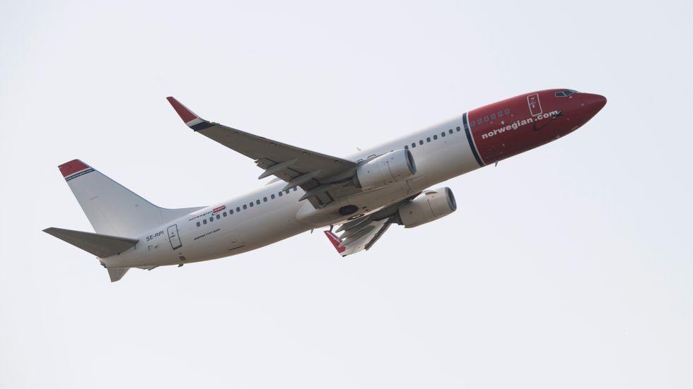 Norge öppnar upp – ett stort lyft för flygbolaget Norwegian. Arkivbild.