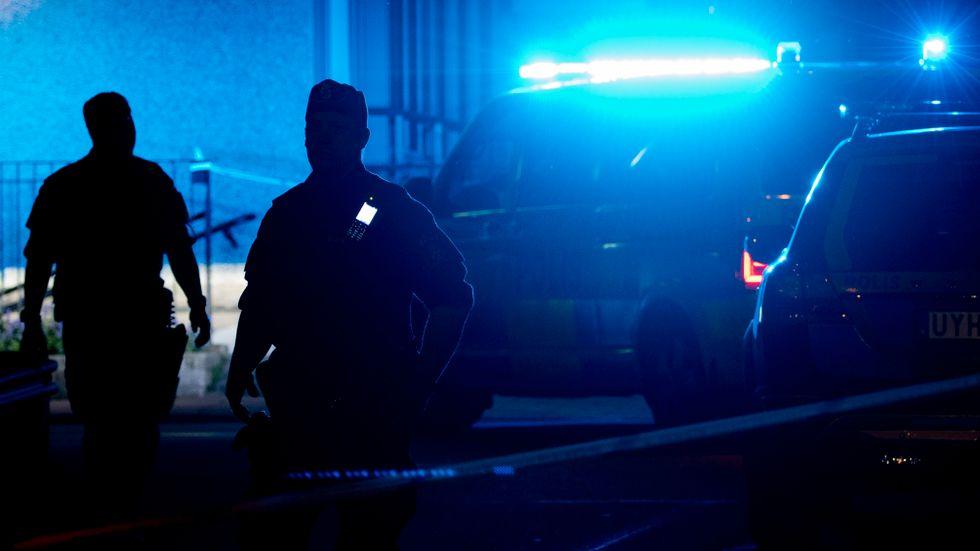 En knivbeväpnad man greps i Luleå. Arkivbild.