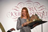 Emma Frans, vinnare av Stora Journalistpriset.