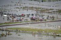 Ida är den senaste naturkatastrofen att drabba världen. Bild från Louisiana, USA, den 31 augusti.