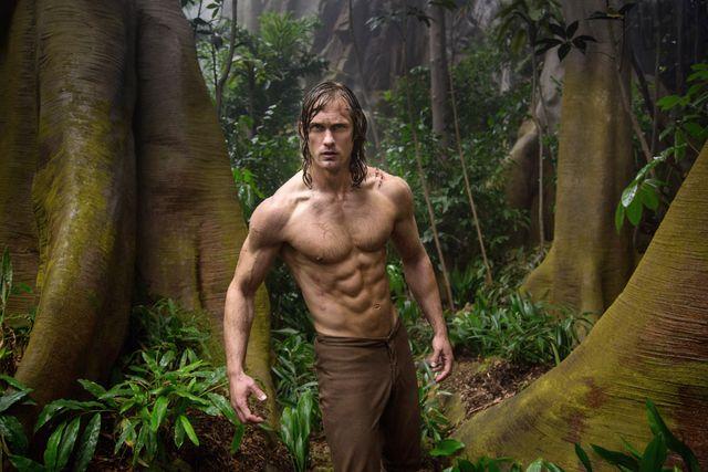 Magnus ligger bakom Alexander Skarsgård förvandling inför filmen Tarzan.