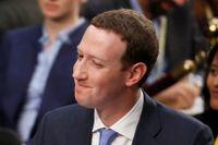 Zuckerberg frågas ut.