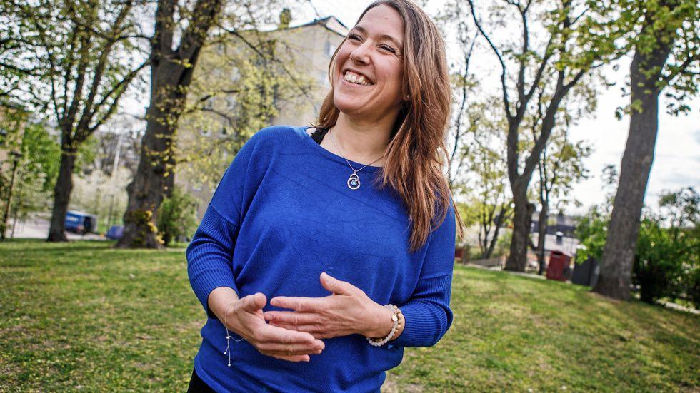 Jeanette Juhnestam har fått bukt med sin talrädsla genom utsätta sig att för sin värsta skräck.
