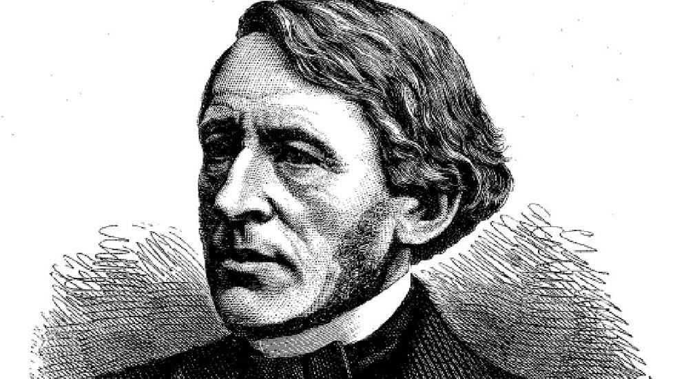 Tidningsmannen, industrialisten och liberalen Lars Johan Hierta.
