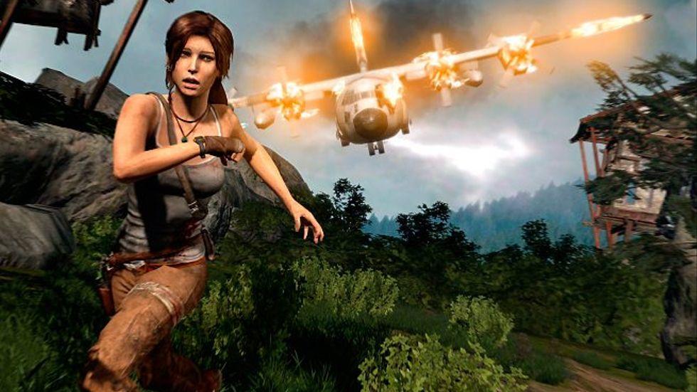 """Storyn i nya """"Tomb raider"""" med Lara Croft är skriven av Rhianna Pratchett. Hon har tidigare arbetat på """"Mirror's edge"""" och """"Heavenly sword""""."""