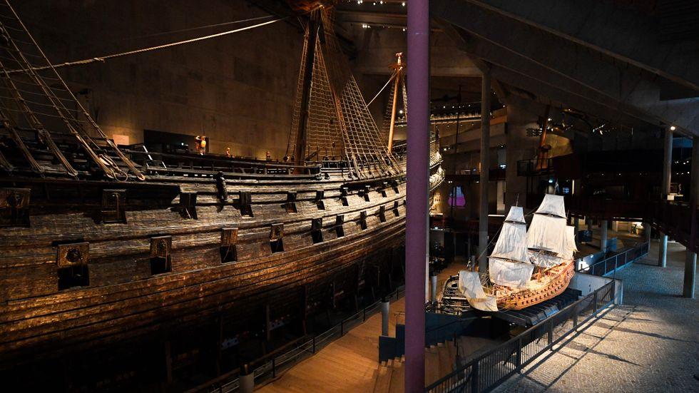 Vasamuseet i Stockholm står tomt. Arkivbild.