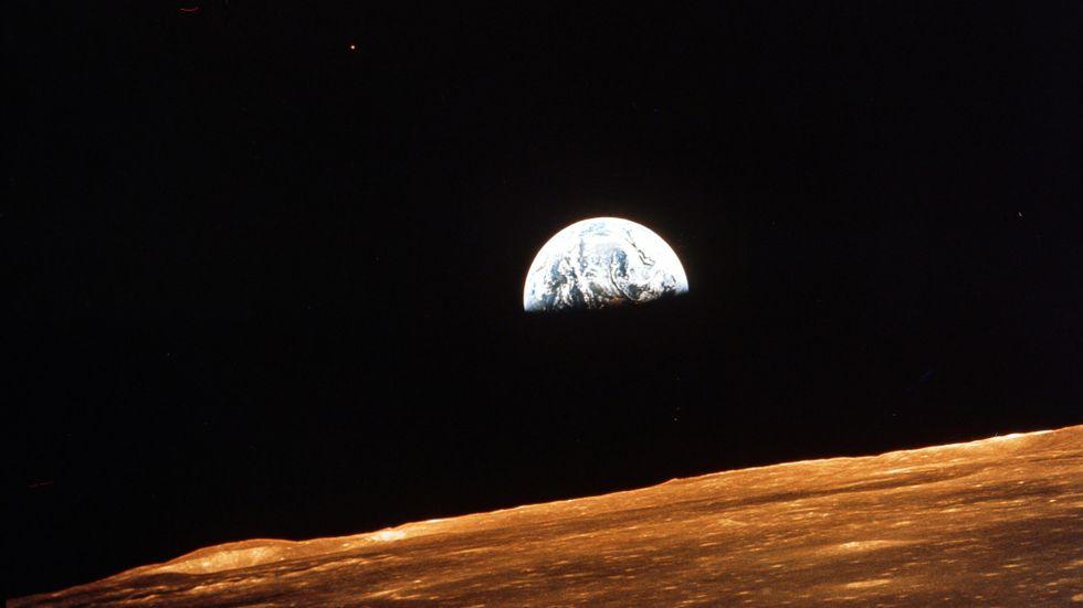 Jorden fotograferad från Apollo10.