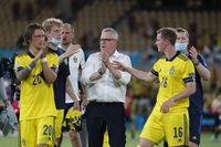 Förbundskaptenen Janne Andersson hyllar spelarna efter 0–0 i EM-premiären mot Spanien.
