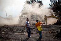 Fortfarande saknas människor efter vulkanutbrottet den 3 juni. Arkivbild.