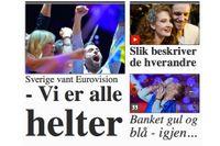 Zelmerlöw hyllas i internationell press