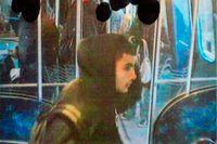 Bild på  Omar Abdel Hamid El-Hussein som den danska polisen släppte efter terrordåden.