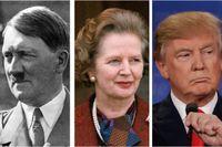 Hitler, Thatcher, Trump. Hur hade världen sett ut om inte just dessa individer existerat?