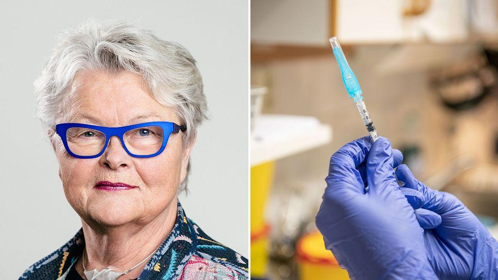 Eva Eriksson, förbundsordförande i SPF Seniorerna.