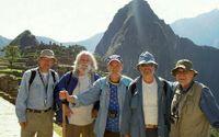 Framförallt är det berg - och platser dit inte så många reser - som vännerna söker sig till.