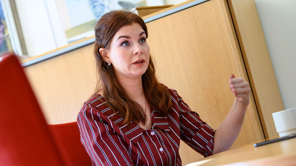 Sölvesborgs kommunalråd Louise Erixon (SD).