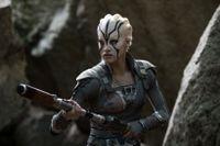 """Sofia Boutella som Jaylah i """"Star Trek beyond""""."""