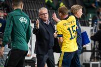 Förbundskapten Janne Andersson får vänta på Dejan Kulusevski. Serie A-stjärnan är satt i karantän i Turin. Arkivbild.