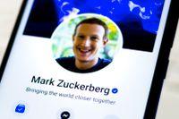 Mark Zuckerberg, grundare av Facebook.