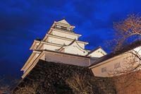 Tsuruga-borgen är en av Fukushimas sevärdheter.