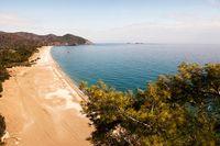 """Olympos utanför Antalya i Turkiet utsågs för några år sedan till """"världens bästa strand""""."""