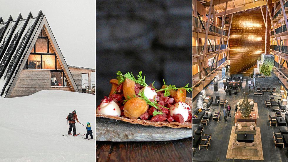 Prisade Björk, Skoogs och Copperhill Mountain Lodge.