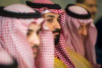 Den saudiske kronprinsen Mohammed bin Salman.