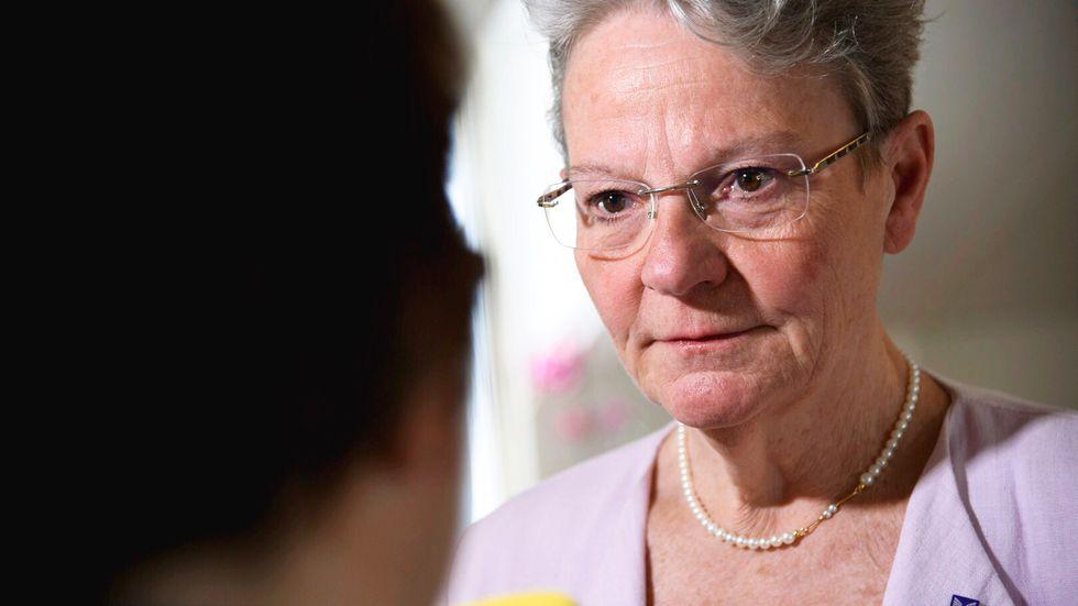 Karin Röding, UHR:s generaldirektör, tror det blir svårt att kunna genomföra högskoleprov i höst.
