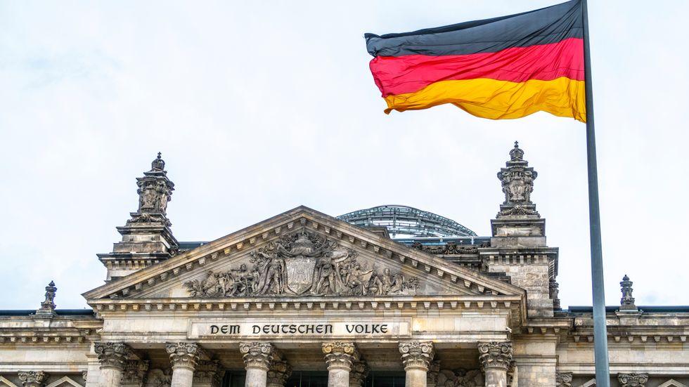 Tysk ekonomi går trögare. Arkivbild.