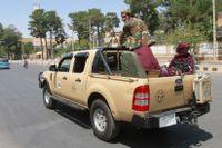 På lördagen tog talibanerna över Logarprovinsen i Afghanistan.