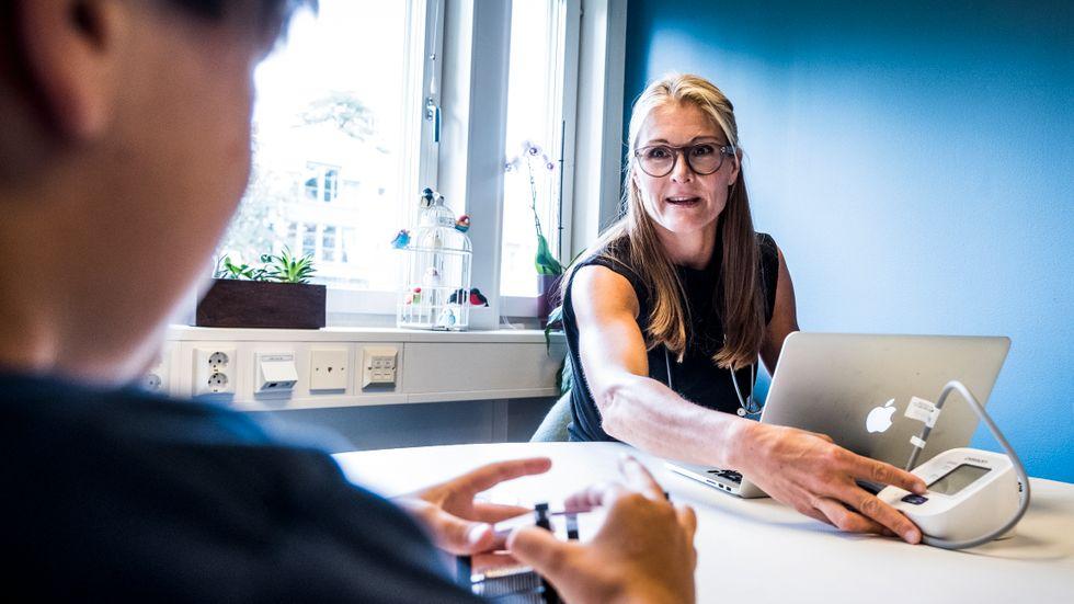 """Lotta Borg Skoglund, överläkare vid """"Smart psykiatri""""."""