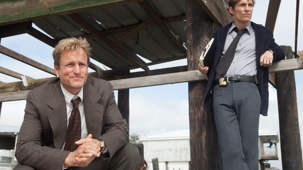 """Woody Harrelson och Matthew McConaughey är njutbara att se i HBO:s nya serie """"True Detective"""""""