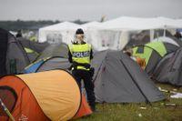 Polisen tog emot fem anmälningar om våldtäkt i samband med Bråvallafestivalen i Norrköping.