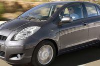 Toyota Yaris blir miljöbil