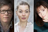 Lena Andersson, Karolina Ramqvist och Ninni Schulman berättar om livet som författare.