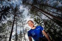 Efter ett ofrivilligt träningsuppehåll är orienteringsstjärnan Tove Alexandersson tillbaka i träning.