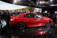 En ny åttonde generation Toyota Camry visades upp på bilmässan i Detroit i januari 2017.