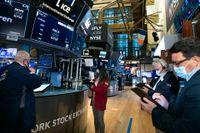 New York-börsen backade mestadels. Arkivbild.
