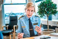 Regionspolischef Carin Götblad.