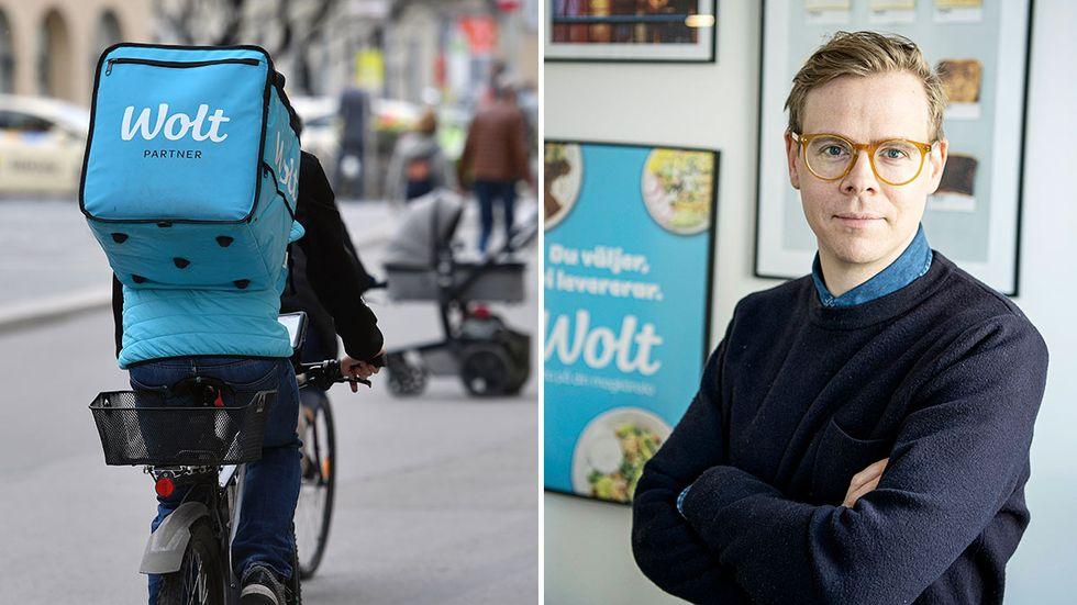 """""""Vi utmanar gängse normer, men det innebär inte att vi inte förordar regelefterlevnad"""", säger Wolts Sverigechef Carl Zetterqvist."""