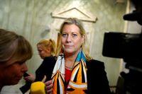 Catharina Elmsäter-Svärd, ett tag påtänkt som ny Moderatledare, blir vd för Byggindustrierna. Arkivbild.