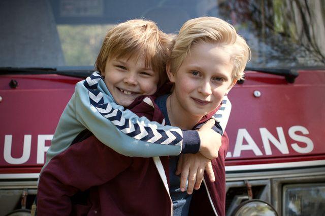 Sune och Håkan i nya Sune-filmen. Foto: Fianna Robijn