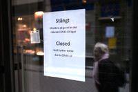 Många butiker tvingas stänga. Arkivbild