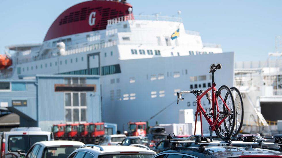 Rederi AB Gotland startar en ny färjelinje mitt i pandemin, Hansa Destinations.